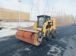 Vassoura de estrada Hcn Brand 0201 Angle Vassoura vassoura para Expressway/auto-estrada/caminho para a carregadeira skid steer e pá carregadeira, Vassoura de neve com qualidade fiável