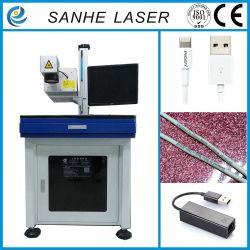 3W Máquina de marcação a laser UV para tubos de aço inoxidável
