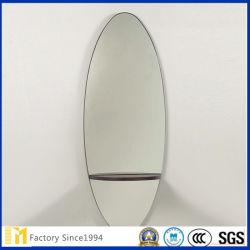 Sin cerco espejo del baño de vidrio para lavabo Precio Espejo