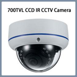 Camera van de Koepel van de Veiligheid van kabeltelevisie van het Bewijs van de Vandaal van het toezicht 700tvl IRL de Video
