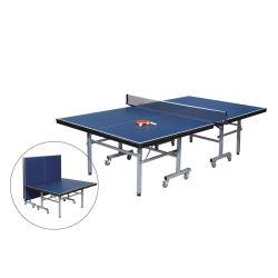 Equipamento para desportos ao ar livre mesa dobrável de ténis de mesa na Escola