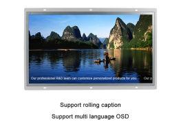 La caja de metal sin cerco 10.1 pulgadas de pantalla táctil y el Monitor de bastidor abierto Non-Touch