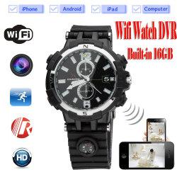 Mini DVR Wi-Fi Smart Remote Control HD 720p Verborgen horloge Camera camcorder