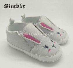 Poliuretano suave barato al por mayor de la moda de bebé zapatos bebé zapatos de cuero