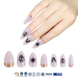 L'ODM & OEM conçu couvercle intégral pointe d'ongles