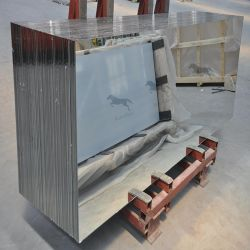 مرآة قطع مشطوفة مائلة مخصصة للراكب مقاس 2 مم 3 مم 4 مم 5 مم 6 مم الزجاج