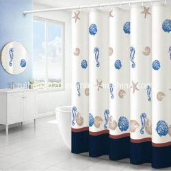 印刷される最新のカーテンは2020デジタルおよび印刷水証拠のシャワー・カーテンを設計する