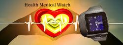 À prova de bracelete Despertador Função Sos Intercomunicador Voz Sport Idosos Smart Anti Emergência Perda de Pressão Arterial