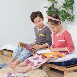 도매는 작풍 고정되는 아이들 의복을 입어 짧은 소매 아이를 인쇄했다