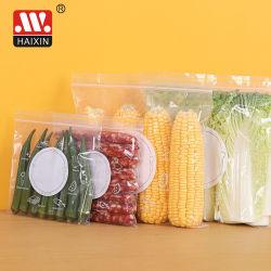 حقيبة بلاستيكية قابلة لإعادة فقد قفل المغرفة تخزين جديدة محكمة الغلق في الثلاجة أو تخزين الطعام في المطبخ