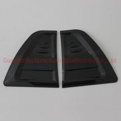 جانب من غطاء الرياح الجانبي الأسود المصنوع من ألياف الكربون بنظام ABS من Hilux 2016 أغطية فتحات التهوية ملحقات تلقائية الغطاء