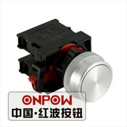 Bouton poussoir Onpow avec 22mm de diamètre Type momentané 1NO 1NC (ONPOW26-11P)