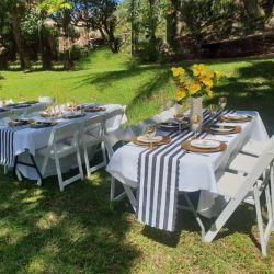 Moderne Gartenmöbel Luxus Camping Klar Tiffany Klappstuhl Weiß Beach Party Plastic Restaurant Essen Bankett Picknick Chiavari Hochzeitsstühle