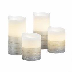 다양한 크기의 화이트 박스 장식 LED 생일 축하 장식 촛불