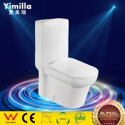 Роскошные ванны туалет санитарных продовольственный керамические из одного куска влаги Туалет