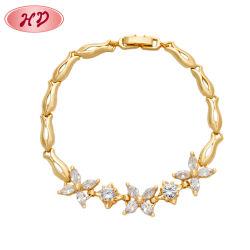 De in het groot Armband Van uitstekende kwaliteit van de Armband Zircon van de Draad van de Juwelen van de Manier van 2020 Nieuwe Regelbare 18K Goud Geplateerde