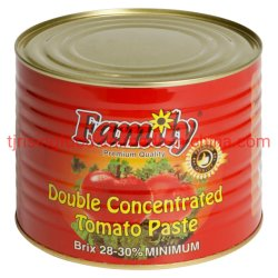 Prezzo all'ingrosso Pasta di pomodoro Salsa di pomodoro in scatola 2200 g +70g