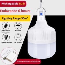Atenuación de la tercera marcha de la luz de lámpara LED de carga de la luz de emergencia