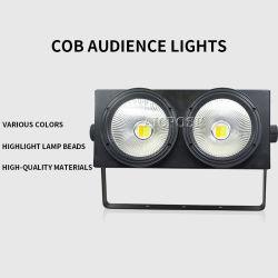 2x100W LED COB Blinder 2in1 세척 유효성 조명