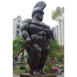 تمثال جندى بوتيرو يقف نحاس بوتيرو الجندي النحت
