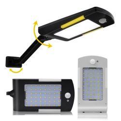 Simva 54 LED lámpara solar inalámbrica con tres modos impermeable al aire libre de iluminación de seguridad de la luz solar para la casa jardín patio de Wall Street