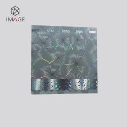 ملصق صورة متعددة الألوان مربعة الشكل مع شعار مخصص مخصص مخصص مخصص
