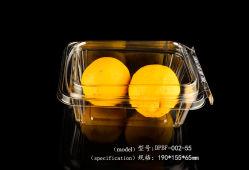 Boîtier en plastique contenant des aliments de fruits de l'Emballage boîtes antivol
