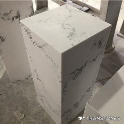 سطح ترانسستون الصلب ورقة الحجر المصقول الزائفة لماء العبستر صندوق