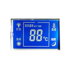 Os dígitos de produto personalizadas Momochrome segmento LCD TN