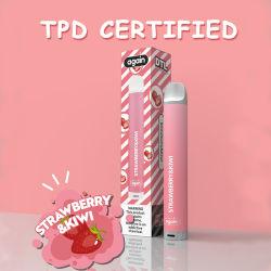 Factory Electroinc vaporizador 500 Puff Kimone con Tpd certificó el E-cigarrillo desechable