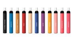 Vape stylo jetable Puff Mini séparés l'usine de gros de pointe à filtre