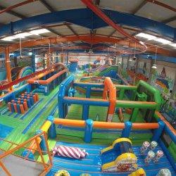 Funny Jumper Bouncer populares inflables interiores trampolín a los niños del Parque de Aventura