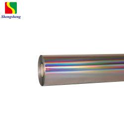 Laser holográfico prata hot stamping Transferência de Calor lâmina raspadora Filme Laser para barato preço CATEGORIA B