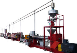 PET 200kg linea di produzione reggetta Eco-Model Strap Band Extrusion Machine