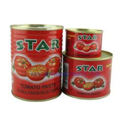 Pasta de Toamto en latas en conserva de estrellas todos los tamaños