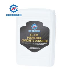 Piso de concreto líquido Densifier Silicato de endurecedor Químico de lítio para polimento de piso de concreto