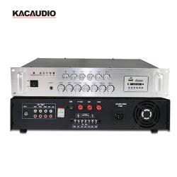 Amplificateur de sonorisation 6 Zones Bluetooth PA amplificateur de puissance du système avec contrôle du volume individuel