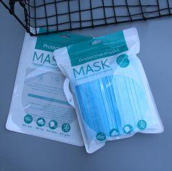 Zak van de Ritssluiting van de Zak van het Masker van het Gezicht van de Zak van het Af:drukken van de douane de Plastic N95 Medische Chirurgische Verpakkende Rekupereerbare
