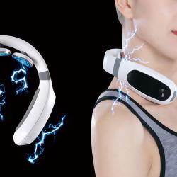 Vertèbre cervicale en plastique Instrument de massage portable cou masseur Vibrant de Voyage avec la chaleur