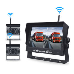 7 Zoll Auto Rearview Wireless Digital Reverse Backup Kamera Kit Für Parkplatz Umkehr Fahrzeug LCD Truck Kamera