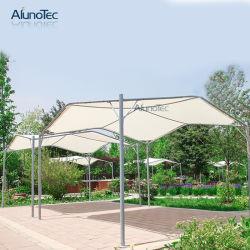 Tenda esterna della tonalità impermeabile del balcone del blocco per grafici d'acciaio di disegno del baldacchino del patio