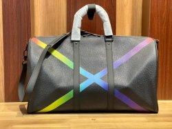 سعر الجملة يحمل حقائب السيدات وحقائب السفر وحقيبة جلدية حقيقية