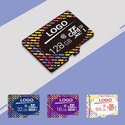 بطاقة SD Micro Memory Card SD من الفئة الأصلية سعة 2 جيجابايت ذاكرة ميكرو سعة 8 جيجا بايت سعة 16 جيجا بايت سعة 64 جيجا بايت سعة 128 جيجا بايت سعة حقيقية كاملة البطاقة