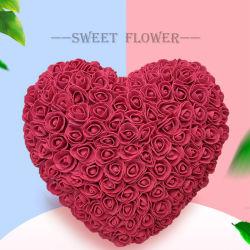 Rose Amor Flor imortal Rose Coração Flor de sabão Dom Aniversário do Dia dos Namorados