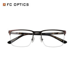 人のための速い郵送物の金属の目の摩耗ガラスの光学フレーム