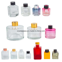 50ml 100ml 200ml Round Square Hexagon Shaped Aroma Reed Diffuser Glass Bottle