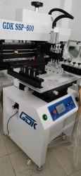 SMT 생산 라인 반자동 스텐실 스크린 프린터/납땜 프린터 기계 250mm * 700mm 폭 회로 기판