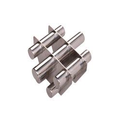 China fabricante OEM 4000GS magneto da Grade da Tremonha com SS304 e o magneto de neodímio de Química e Plástico grânulo