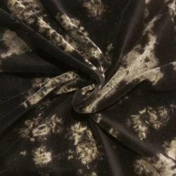Gebreide Weft 80 katoen 20 Polyester Man Denim Jean Velvet Stof CVC Denim Indigo Blue Velour stof voor jaskleding Kleding