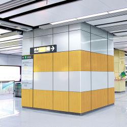 Индивидуального дизайна настенные украшения металлические раунда из шпона из алюминия в форме рулевой колонки